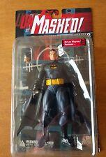 DC Direct UNMasked Bruce Wayne Batman Secret Files Series 2 Figure Rare MIB