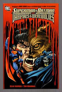 SUPERMAN-amp-BATMAN-VS-VAMPIRES-amp-WEREWOLVES-DC-Comics-TPB-Graphic-Novel