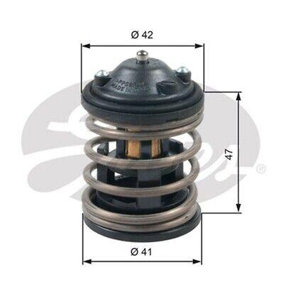 GATES Thermostat Kühlmittel TH47487G1 für BMW 5er F10 Touring F11 3er F30 F80 X1