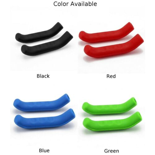 2X MTB Bike Bicycle Scooter Handle Bar Brake Lever Silicone Cover Protector Gear