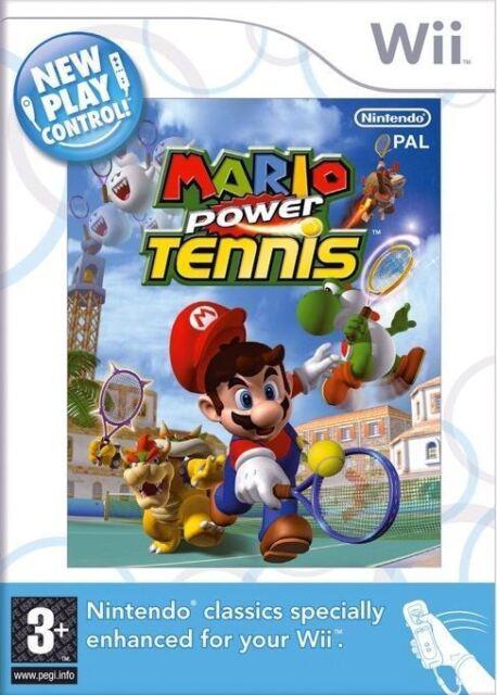 Mario Power Tenis Wii Nuevo