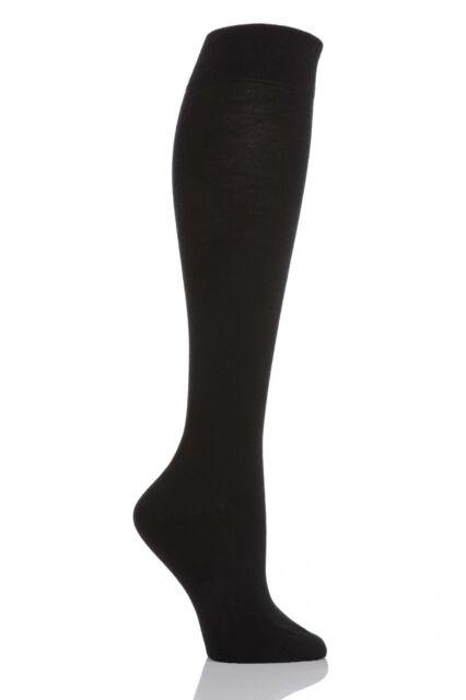 b0aca19a681 Falke Womens Soft Merino Knee High Socks 37-38 Black 1140337 for ...