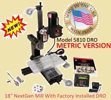Sherline 5810dro Metric 18 Nextgen Mill Oil Reservoirs Amp Dro All Axes Installed