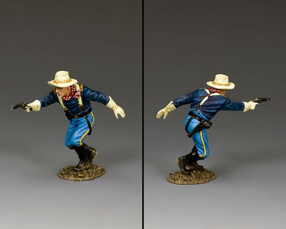 KING & COUNTRY THE REAL WEST TRW130 U.S. CAVALRY LT. CANTRELL MIB