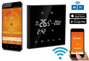 CronoTermostato-WIFI-regolabile-Settimanale-Temperatura-Caldaia-gas-Touch-Screen