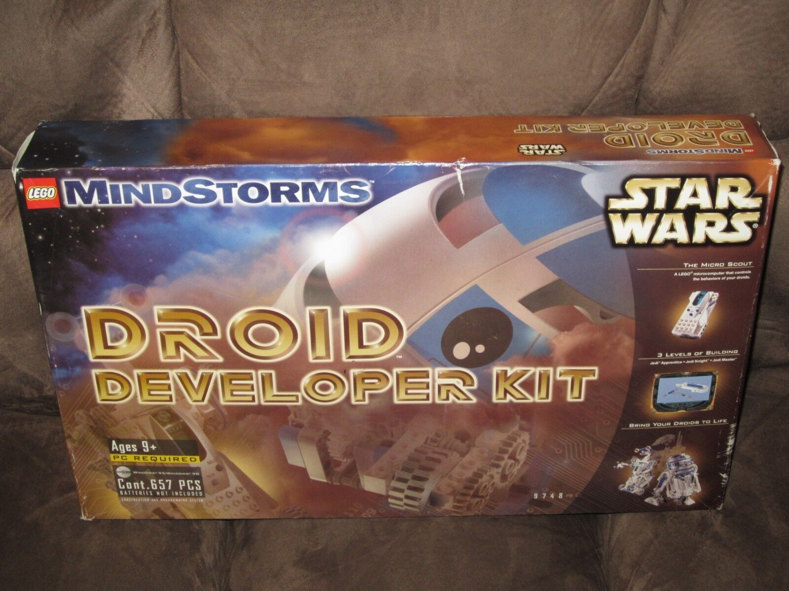 LEGO MIndstorms MIndstorms MIndstorms Droid Developer Kit (Complete) a05413