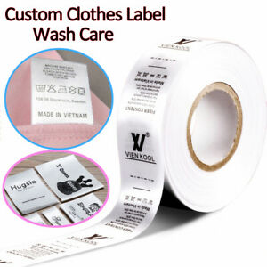 Personalized-Clothes-Name-Label-Tag-Sew-In-Garment-Satin-Ribbon-Custom-Brand-DIY
