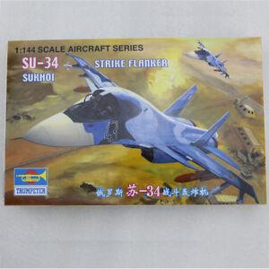 Ricariche Fiancheggiatore 1/144 Militare Russo Su-34 Modello di Aereo Aria
