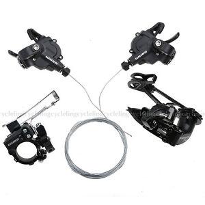 SRAM-X4-Groupset-X4-Front-Derailleur-X4-Rear-Derailleur-X4-Shifters-3x7-8S-Black