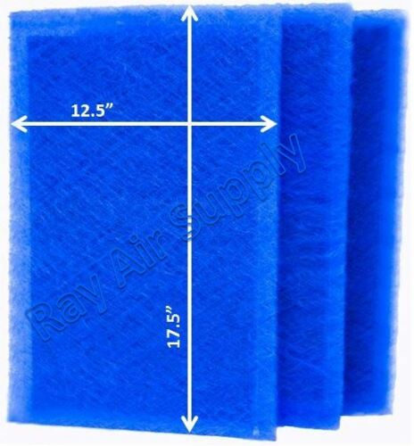 RayAir Supply 14x20 Air Ranger Air Filter Replacement Filter Pads 3 Pack