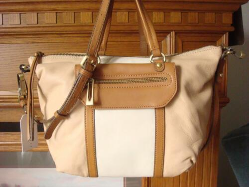 228 TanNudeamp; Ivory Satchel Soft Buttery Leather Hero Sanctuary Nwt Crossbody~ WID9H2YeE