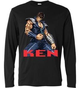 Maglia maglietta t shirt uomo ken shiro hokuto cartone animato ebay