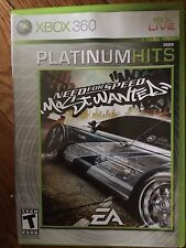 Need for Speed: Most Wanted (Microsoft Xbox 360, 2005)USED