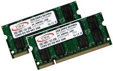 2x 2GB 4GB Speicher 667 Mhz Apple MacBook 4,1 RAM 2007 / 2008 Modelle SO-DIMM