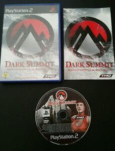 Dark Summit (Sony PlayStation 2, 2002, DVD-Box) PS2 Snowboard Spiel - Augsburg, Deutschland - Dark Summit (Sony PlayStation 2, 2002, DVD-Box) PS2 Snowboard Spiel - Augsburg, Deutschland
