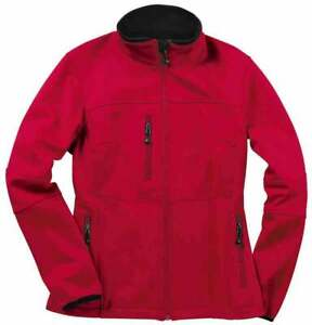 River-039-s-End-Soft-Shell-Jacket-Athletic-Outerwear-Red-Womens-Size-XXL