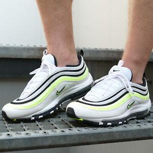 Details zu Nike Air Max 97 Sneaker Schuhe Weiß Schwarz Herren AQ4126 101