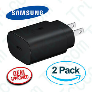 2x-OEM-Samsung-EP-TA800-Galaxy-S20-S20-25W-Type-C-Super-Fast-Wall-Charger