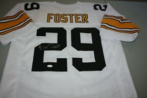 Details about PITTSBURGH STEELERS BARRY FOSTER #29 SIGNED ROAD JERSEY PRO BOWL JSA CERTIFIED