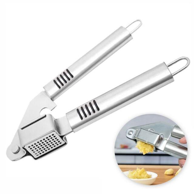 Garlic Press Hand Crusher Ginger Squeezer Masher Nut Cookie Kitchen Pro H Gift