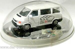 VW-Bus-T4-Schabak-Modell-1-43-Silver-Wheels-20-Jahre-Votex-limitiert-NEU