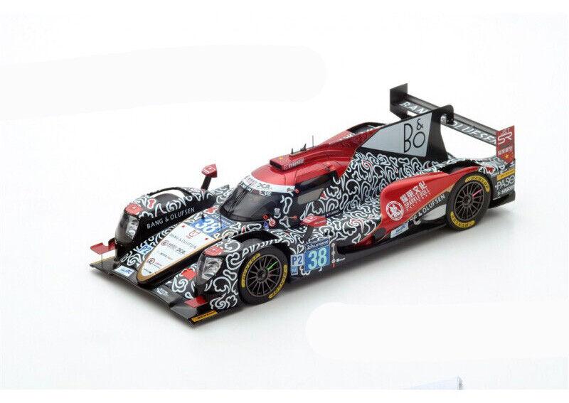 Spark Oreca 07 Gibson  38 - 2nd Le Mans 2017 & Winner lmp2 1 18