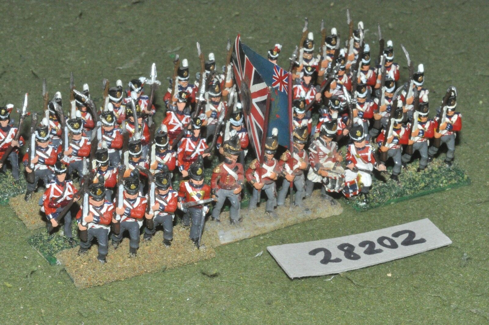 25mm napoleonic   british - line 48 figures - inf (28202)