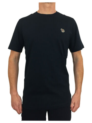 Paul Smith Zebra Badge T-Shirt in Navy Blue