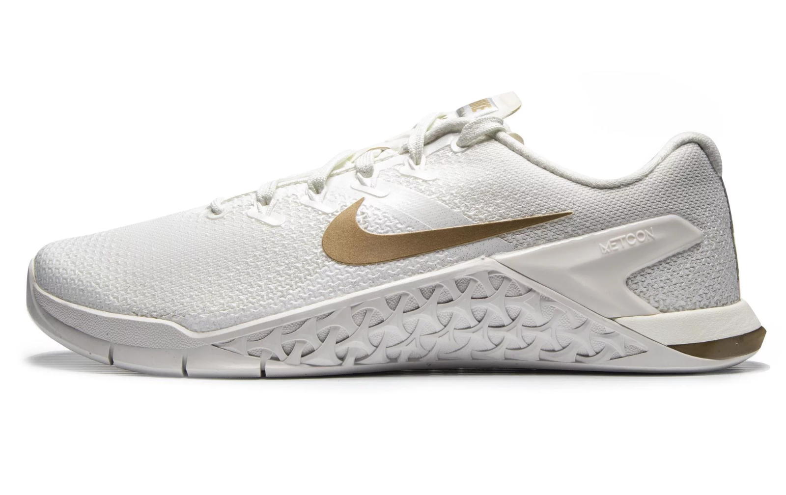 NIKE METCON 4 CHAMPAGNE  METALLIC gold  (AV2141 120) WOMEN'S TRAINERS UK 6-6.5