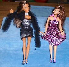 Barbie Fashion Fever Fashionista Fashion Type Dolls Lot of 2