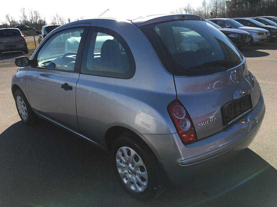 Nissan Micra 1,2 Visia Benzin modelår 2008 km 183000