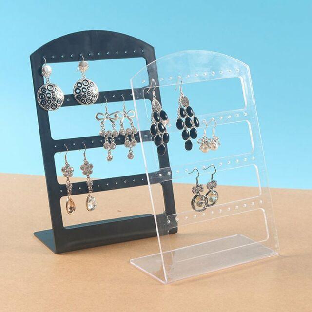 1pcs 48 Hole Earrings Ear Studs Display Holder Stand Jewelry Organizer Rack VX