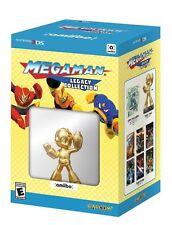 Mega Man: Legacy Collection Collector's Edition & Gold amiibo [Nintendo 3DS] NEW