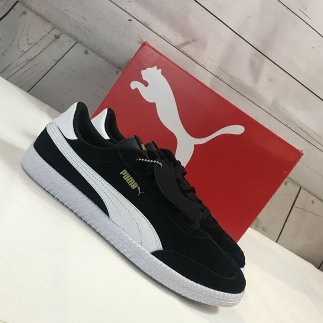 Puma Astro Cup Black White Gold Mens Shoe NWB Size UK 9.5 EUR 44 US 10.5