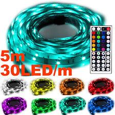Flash30 5m RGB LED Strip e Band Kette Streifen Leiste Leuchte Lichterkette IP20
