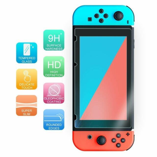 Film Protection d'écran en Verre Trempé Pour Nintendo Switch (HD Transparent)
