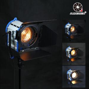 For Film Video Studio 1000W Tungsten Spot light+Dimmer Built-in+Globe Lighting