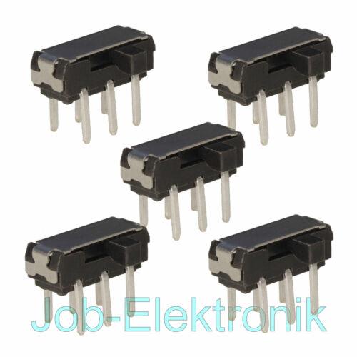 5 trozo microinterruptor 2xum cursor printmontage mini micro interruptor