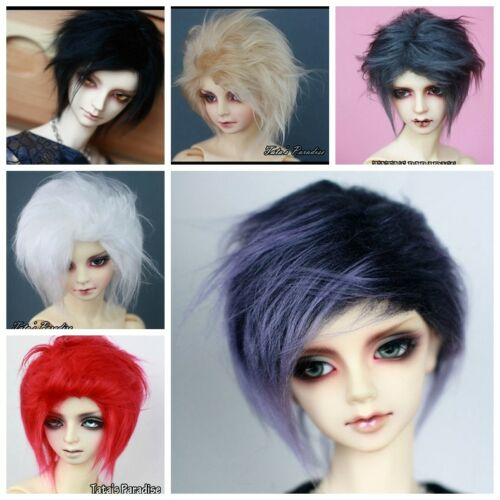 TATA lucky package wig 1 piece 18-19cm for BJD MSD 1/4 size doll use 7-8'