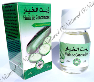 Huile-de-Concombre-Macerat-100-Naturelle-30ml-Cucumber-oil-Aceite-de-Pepino