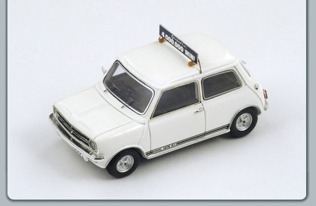 Mini 4 Millionth Mini 1969 White S2655 Spark 1 43 New in a box