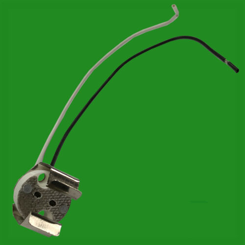 MR16 GU5.3 Ceramic Socket With Retaining Clip LED Halogen Fitting Lamp Holder