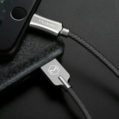 Mcdodo Power Off Nylon Braided Sync Charge Usb Data Cable