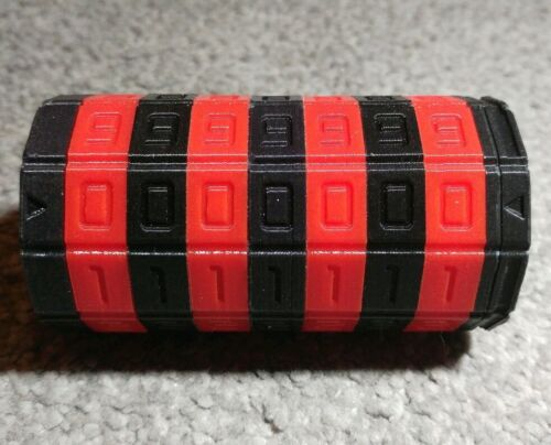 Mini Cryptex Puzzle DaVinci Replica Geocaching 3D Print Plastic 5, 6 or 7 Number