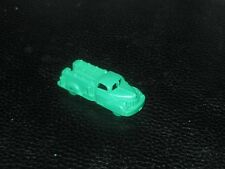 Vintage MIniature Empire Fire Truck in Green Plastic - 1950s