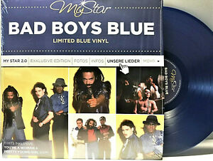 LP-Bad-Boys-Blue-My-Star-Best-of-Hits-Numbered-180g-Blue-Vinyl-80er-Euro-Disco