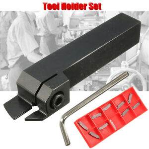 MGEHR1616-2-Parting-Off-Turning-Tool-Holder-10X-MGMN200-Carbide-Insert-LatheTool
