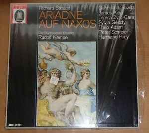Kempe-Janowitz-King-STRAUSS-Ariadne-auf-Naxos-Odeon-1C-165-00-110-12-SEALED
