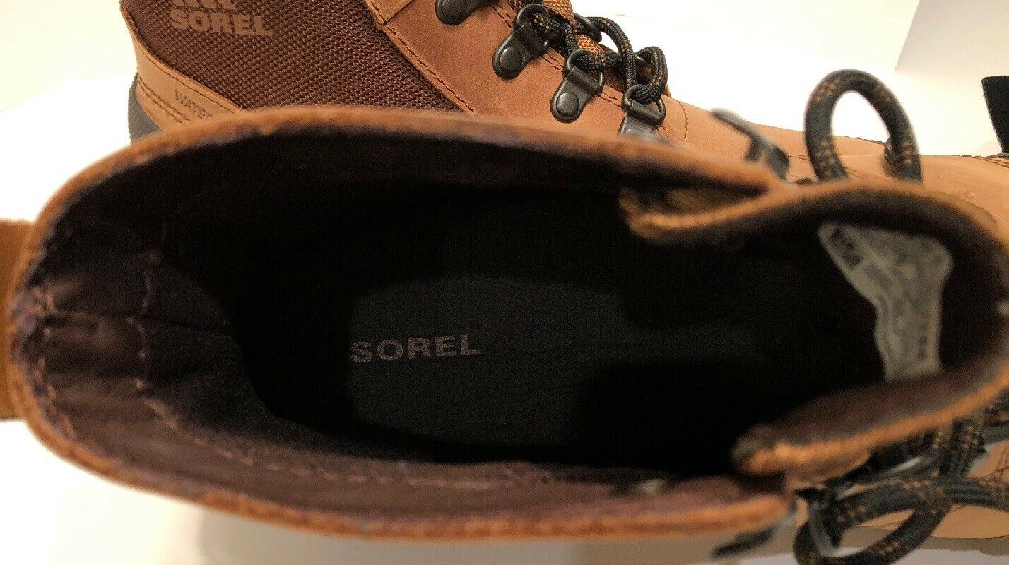 NEW SOREL Ankeny Mid Hiker Ripstop avvio Uomo 9.5 Grizzly Grizzly Grizzly Bear Hickory MSRP  140 a6b5a9