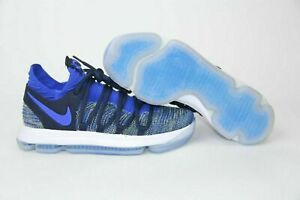 new product 2a2f9 97317 Details about NIKE ZOOM KD10 NFS PE ID QS Racer Blue Navy Yellow White  WARRIORS MENS 13 Shoes